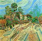 Cart Tracks 1918 - Joan Miro reproduction oil painting