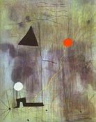 Birth of the World 1925 - Joan Miro reproduction oil painting