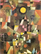 Der Volland 1919 - Paul Klee reproduction oil painting