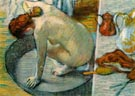 The Tub 1886 - Edgar Degas reproduction oil painting