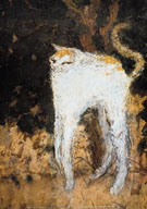 Le Chat Blanc 1894 - Pierre Bonnard reproduction oil painting