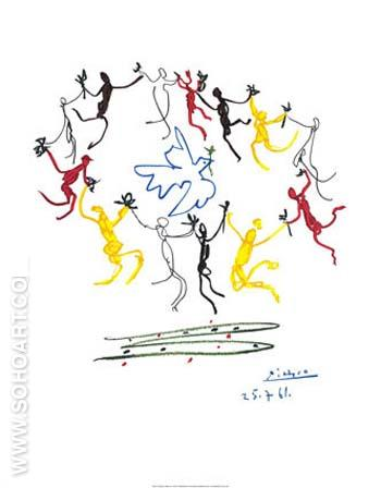 Dance of Youth - Pablo Picasso reproduction oil painting