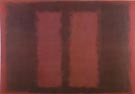 Sketch for Mural 6, Black Over Maroon 1958 - Mark Rothko