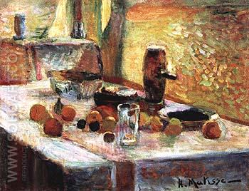First Orange Still Life. early 1899 - Henri Matisse reproduction oil painting