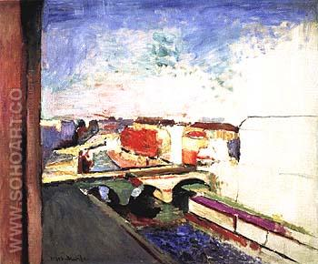 Pont Saint-Michel 1900 - Henri Matisse reproduction oil painting
