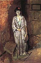 Mme Matisse in a Japanese Robe 1901 - Henri Matisse reproduction oil painting