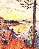 The Gule of Saint-Tropez 1904 - Henri Matisse reproduction oil painting