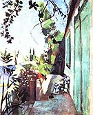 The Terrace Saint Tropez 1904 - Henri Matisse reproduction oil painting