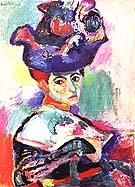 The Woman with the Hat 1905 - Henri Matisse reproduction oil painting