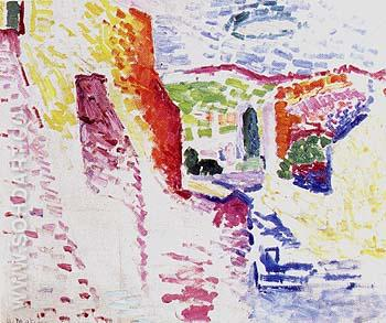 View of Collioure 1905 - Henri Matisse reproduction oil painting