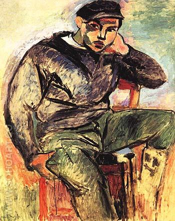 The Young Sailor (I) 1906 - Henri Matisse reproduction oil painting