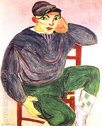 The Young Sailor (II) 1906 - Henri Matisse reproduction oil painting