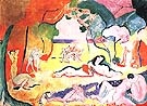 The Joy of Life 1905 - Henri Matisse reproduction oil painting