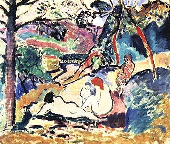 Pastoral 1906 - Henri Matisse reproduction oil painting