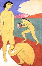 Le Luxe (II) 1907 - Henri Matisse reproduction oil painting
