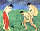 Game of Bowls 1908 - Henri Matisse reproduction oil painting