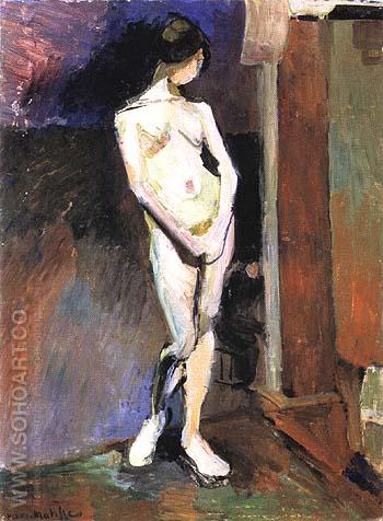 Standing Nude 1906 - Henri Matisse reproduction oil painting