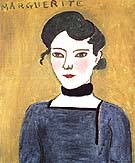 Marguerite 1907 - Henri Matisse reproduction oil painting
