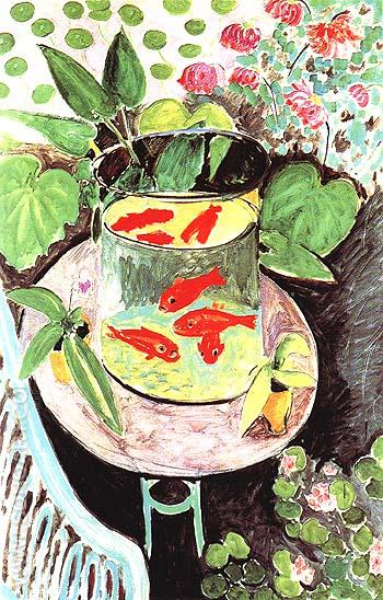 Goldfish 1912 - Henri Matisse reproduction oil painting