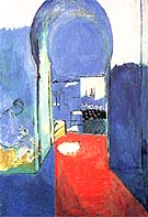 The Casbah Gate 1912 - Henri Matisse reproduction oil painting