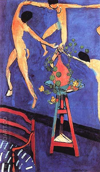 Nasturtiums with Dance II 1912 - Henri Matisse reproduction oil painting