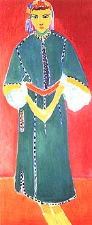 Zorah Standing 1912 - Henri Matisse reproduction oil painting