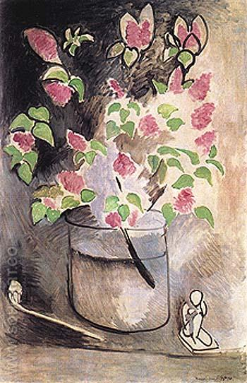 Branch of Lilacs 1914 - Henri Matisse reproduction oil painting