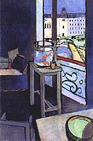 Interior with a Goldfish Bowl 1914 - Henri Matisse reproduction oil painting