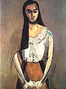 The Italian Woman 1916 - Henri Matisse reproduction oil painting
