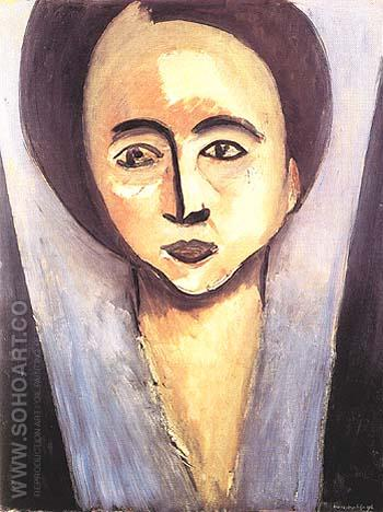 Portrait of Sarah Stein 1916 - Henri Matisse reproduction oil painting