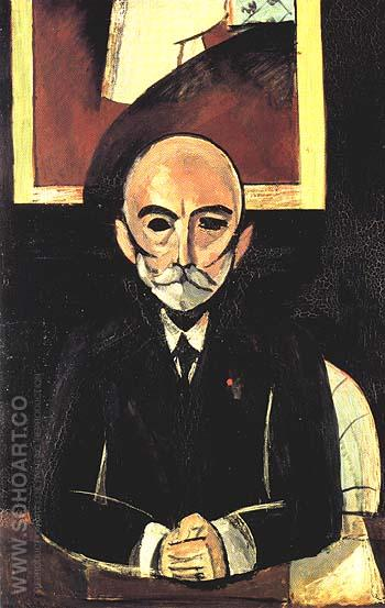 Portrait of Auguste Pellerin (II) 1917 - Henri Matisse reproduction oil painting