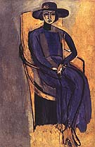 Portrait of Greta Prozor 1916 - Henri Matisse reproduction oil painting
