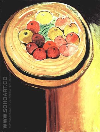The Apples 1916 - Henri Matisse reproduction oil painting