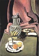 The Pewter Jug 1917 - Henri Matisse reproduction oil painting