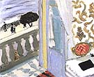 Interior with Black Notebook 1918 - Henri Matisse reproduction oil painting