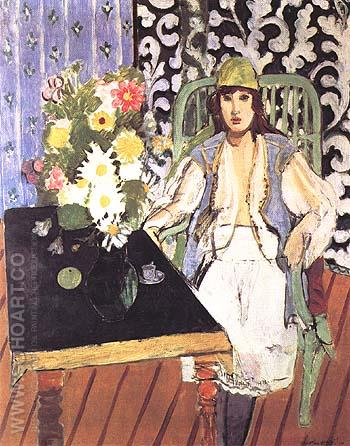 The Black Table 1919 - Henri Matisse reproduction oil painting
