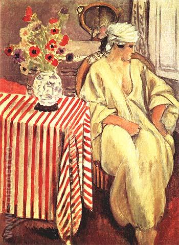 Meditation  After the Bath 1920 - Henri Matisse reproduction oil painting