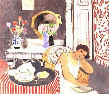 The Breakfast 1919 - Henri Matisse reproduction oil painting