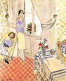 The Boudoir 1921 - Henri Matisse reproduction oil painting