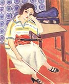 Woman with a Violin 1921 - Henri Matisse reproduction oil painting