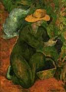 En el Vinedo  The Vineyard - Diego Rivera