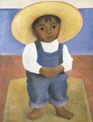 Retrato de Igancio Sanchez - Diego Rivera