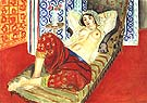 Odalisque with Red Culottes 1921 - Henri Matisse reproduction oil painting