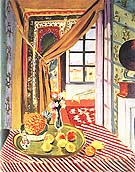Interior with a Phonograph 1924 - Henri Matisse reproduction oil painting