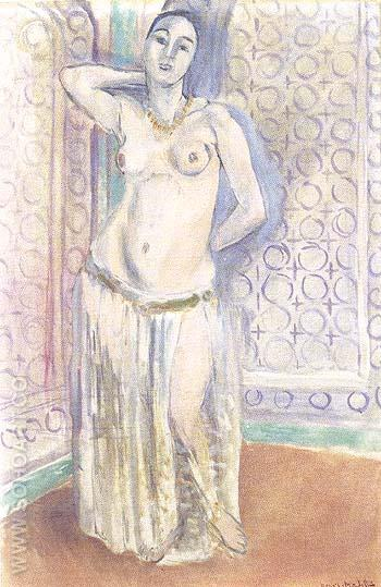 Odalisque or The White Slave - Henri Matisse reproduction oil painting