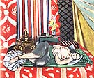 Odalisque with Gray Cuiottes 1926 - Henri Matisse reproduction oil painting
