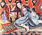 Odalisque with a Turkish Chair 1927 - Henri Matisse reproduction oil painting