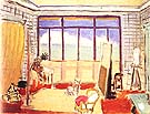 The Studio 1929 - Henri Matisse reproduction oil painting