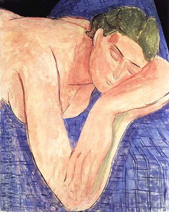 The Dream 1935 - Henri Matisse reproduction oil painting