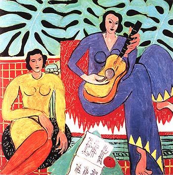 Music 1939 - Henri Matisse reproduction oil painting